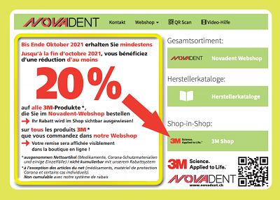 20%-Aktion auf alle 3M-Produkte bis Ende Oktober 2021!
